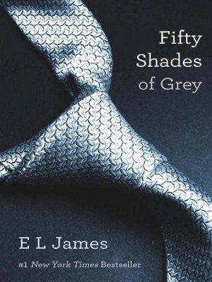 First book in erotic trilogy by E.L. James.  A literature student Anastasia Steele meets a handsome, yet tormented, billionaire named Christian Grey. December, 2014.