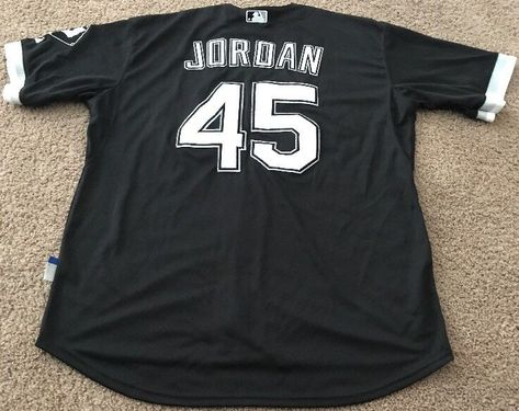 check out 4ba32 f380d switzerland mlb jerseys chicago white sox 45 michael jordan ...