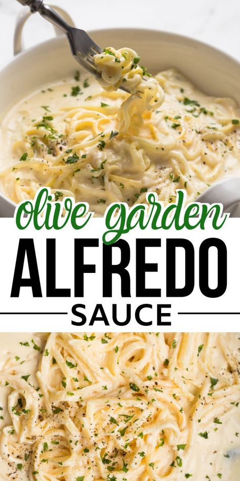 Creamy delicious Olive Garden Copycat Fettuccine Alfredo recipe is best to fix dinner/lunch,made with alfredo sauce made with cream,butter,cream cheese and parmesan,together with fettuccine makes this restaurant style pasta recipe. Clean Eating Recipes, Easy Healthy Recipes, Easy Meals, Cooking Recipes, Simple Easy Dinner Recipes, Easy Recipes For One, Low Fat Pasta Recipes, Recipes With Milk, Recipes With Ricotta Cheese