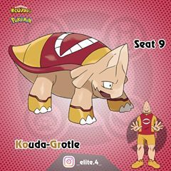 Seat 9 Koji Koda Quirk Anivoice Pokémon Grotle Pokemon