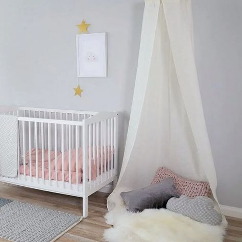 55 beautiful baby girl nursery room ideas 38 #nurseryroom #nurseryroomideas #nurseryroomdesign « housemoes