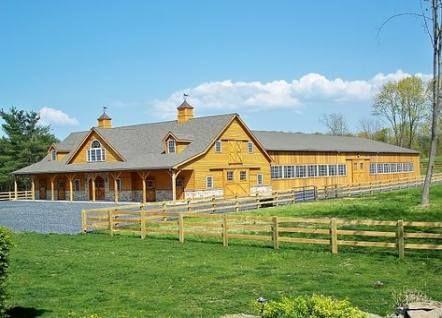 House Barn Combo Plans Woods 56 Ideas Horse Barn Plans Dream Horse Barns Barn Construction