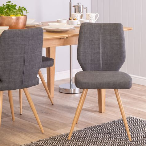 Scandinavian Enka Slate Grey Dining Chair Dining Chairs Gray Dining Chairs Scandinavian Dining Table