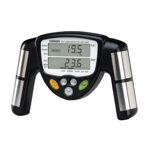 Amazon.com: Omron Body Logic Fat Loss Monitor model HBF-306C(Silver): Sports & Outdoors