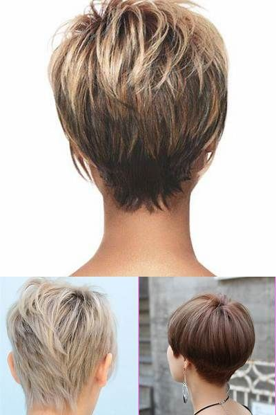 Short Hairstyles For Women Over 60 Back Views Bing Images Short Hairstyles For Thick Hair Short Hair Styles Thick Hair Styles