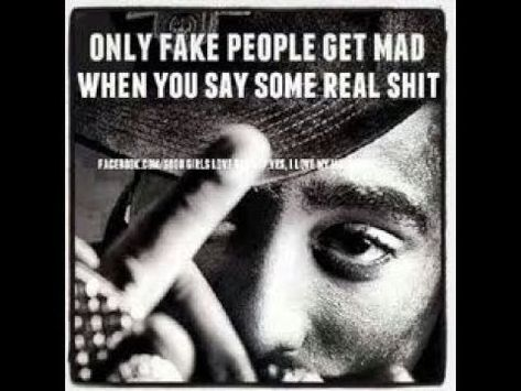 Real Shit Pisses Fake People Off (Know Yourself)
