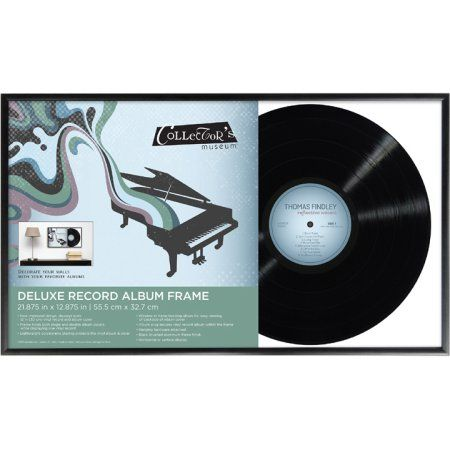 Mcs Deluxe Record Album Frame Walmart Com In 2020 Album Frames Framed Records Vinyl Record Frame