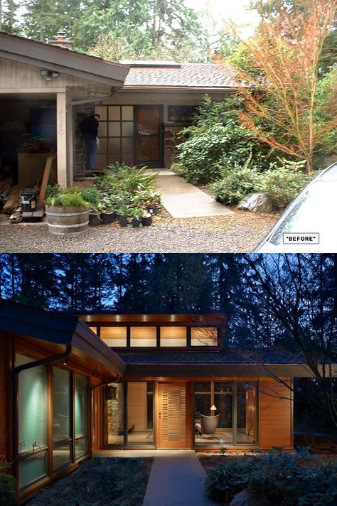 Best 70s Home Remodel Exterior Midcentury Modern 16 Ideas Ranch House Remodel Modern Remodel