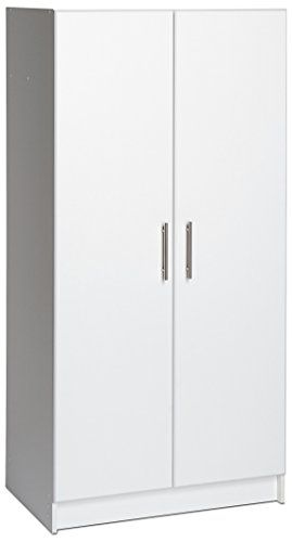 Elite 32 Storage Cabinet This Storage Cupboard Is 16 Inches Deep In Its Place Of The Regular 12 Inches For 34 Far More Stora Wood Storage Shelves Storage Storage Shelves