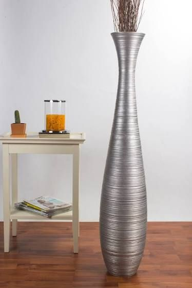 Tall Thin Floor Vases Tall Floor Vases Floor Vase Tall Silver