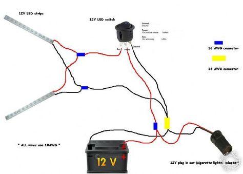 Triple Rocker Switch Wiring Diagram
