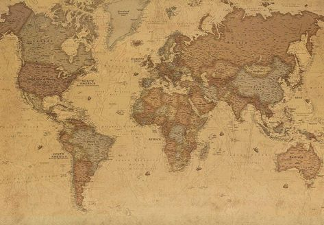 Ancient World Map From 1689 Free Stock Photo - Public Domain Pictures