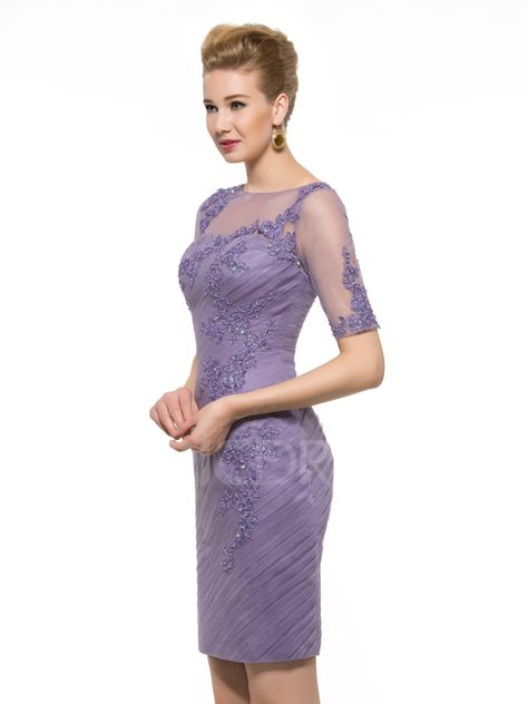 7e3ad4ac26d9 Classical Sheath Lace Beading Mother Of The Bride Dress Mother of ...