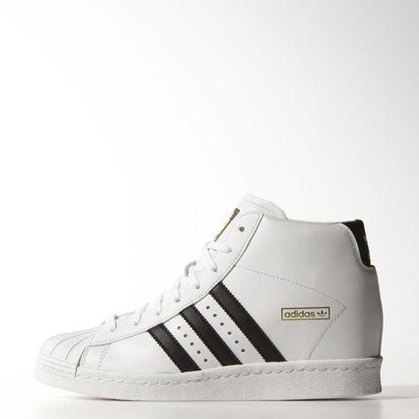 huge selection of dd1f2 73ef6 adidas - Buty Superstar Up Ftwr White   Core Black   Gold Met. M19513