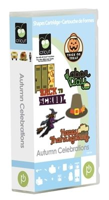 ScrapbookPal.com - Cricut Cartridge - Autumn Celebrations, $24.99 (http://www.scrapbookpal.com/cricut-cartridge-autumn-celebrations/)