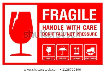 Packaging Label Fragile Just Print Use Print Labels Packaging