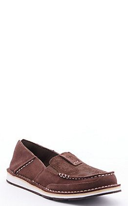 Brown Suede Casual Shoes