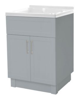 Transform Laundry Tub Cabinet Grey Canadian Tire Laundry Tubs Tub And Shower Faucets Tub