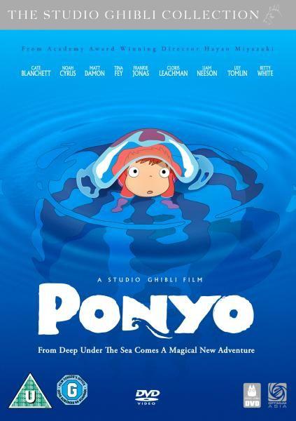 Ponyo 2008 Studio Ghibli Ponyo Action Adventure