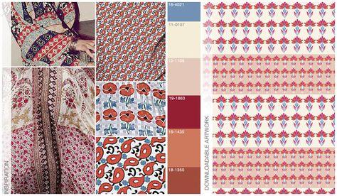 s/s 2016 women's art for trend theme: Tapestry Sessions art 2