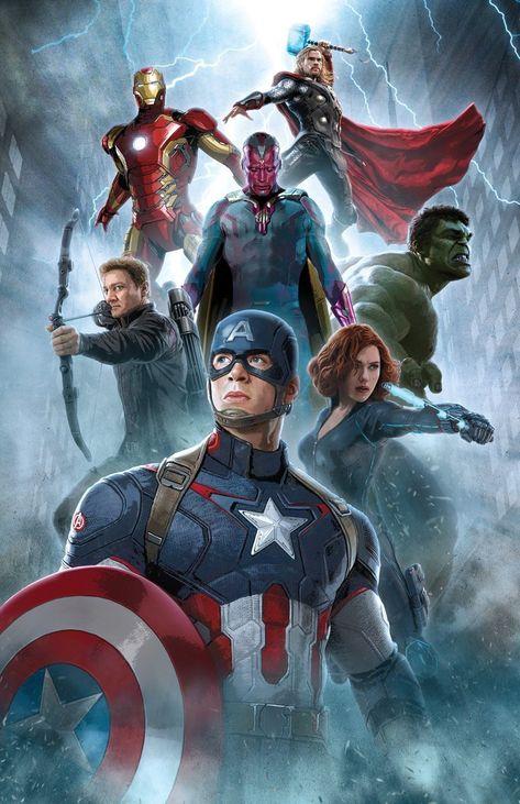Avenger of Our Age - Marvel Art - Artist Proofs