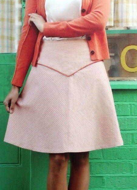 e54eb1605 Free PDF pattern, GBSB2 Yoke skirt   Sewing Pattern   Skirt patterns ...