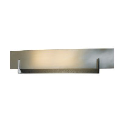 Hubbardton Forge Axis 1 Light Dimmable Flush Mount Finish Natural Lron Shade Color White Art Bulb Type 2 Wire Wall Sconces Fluorescent Bulb Modern Lamp