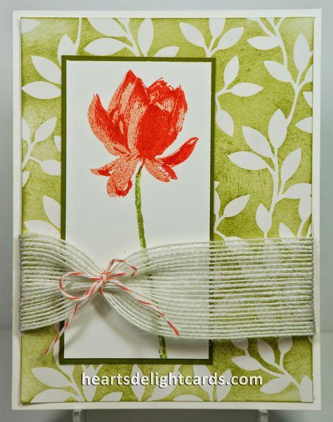 Heart's Delight Cards: Lotus Blossom