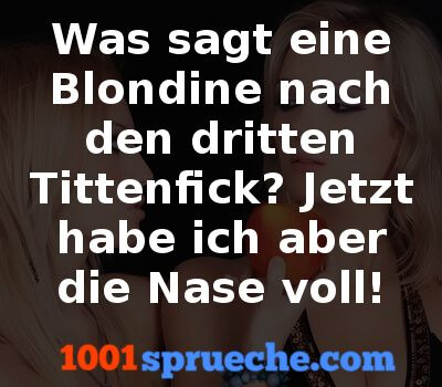 Perverse Blondinenwitze99 1001spruechecom Lustig