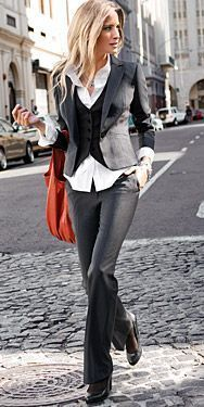 huge inventory how to orders big discount sale Women Suits and Sneaker Trend | Business outfits, Fashion ...