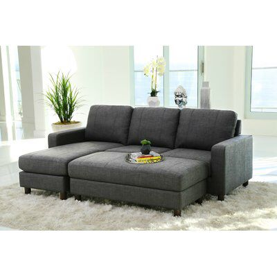 Grindle Modular Sectional With Ottoman Sectional Sofa Couch With Ottoman Small Sectional Sofa