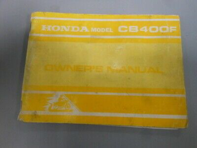 [DIAGRAM_4FR]  Advertisement eBay) Honda Factory Owners Manual w/ Wiring Diagram 1975  CB400F CB400 Super Sport in 2020 | Motorcycle parts and accessories, Honda  models, Super sport | Honda Cb400f Wiring Diagram |  | Pinterest