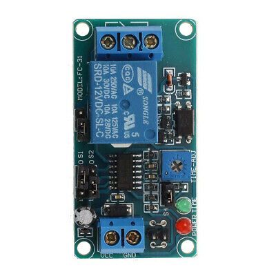 Ad Ebay Dc 12v Timing Board Switch Trigger Timer Time Delay Relay Module Car Buzzer In 2020 Relay Timer Buzzer