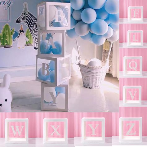Balloon Garland Arch Birthday Girl 165 pc Baby Shower Decorations for Girl Banner and Balloons Boxes Elephant Baby Shower and Birthday Decorations