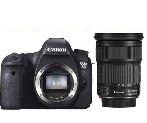1671.12US $ |New Canon EOS 6D 20.2 MP DSLR Camera Body With EF 24 105mm f3.5 5.6 IS STM Lens Kit|camera led light review|camera shopcamera 8gb - AliExpress