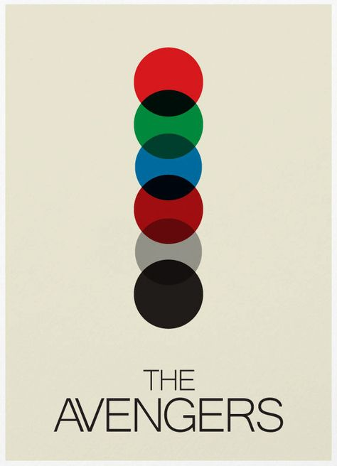 The Avengers Mimalist Poster  A3 Print by Posterinspired on Etsy