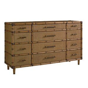 Twin Palms Solid Wood Standard Bed In 2020 12 Drawer Dresser Tommy Bahama Home Lexington Home
