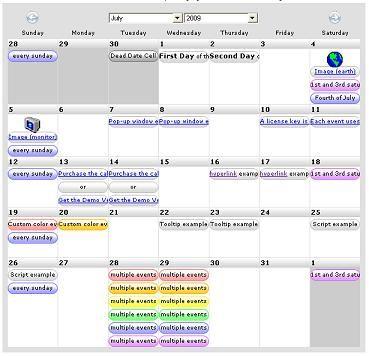 9 best Javascript Event Calendar images on Pinterest Event - event calendar