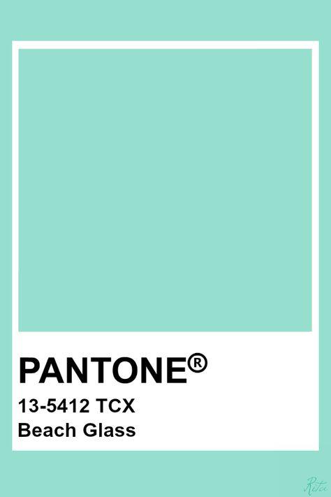 Pantone Beach Glass