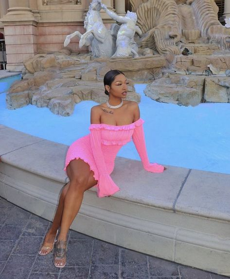 Boujee Outfits, Cute Swag Outfits, Classy Outfits, Fashion Outfits, Pink Dress Outfits, Black Girl Fashion, Look Fashion, 2000s Fashion, Cute Birthday Outfits