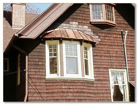 Copper Roof Built In Gutter Installers Repair Milwaukee Wi With Images Copper Roof