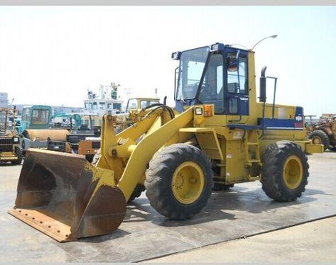 komatsu wa150 6 wheel loader service repair manual download 80001 and up