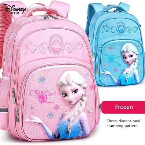 2020 Fashion New Disney Schoolbags Elementary School Students Girls Princess Childrens Bags Waterproof Cartoon Offload Backpack - #2020 #backpack #bags #cartoon #Childrens #disney #Elementary #fashion #girls #New #Offload #princess #school #Schoolbags #students #Waterproof