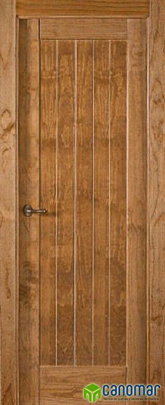 Puerta De Interior Rústica Fabricada En Madera Maciza De Pino Certificada Medioambientalmente Por Fsc Y Pe Losas Macizas Ventanas De Madera Puertas Interiores