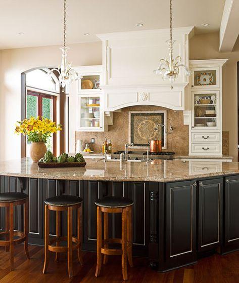 Kitchen of Monica Hart : La Famiglia blog,  Photo by John Granen