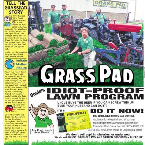 Grass Pad Idiot Proof