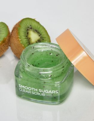 Buy L'Oreal Paris Smooth Sugar Clear Kiwi Face And Lip Scrub at ASOS. With free delivery and return options (Ts&Cs apply), online shopping has never been so easy. Get the latest trends with ASOS now. Skin Care Regimen, Skin Care Tips, Beauty Care, Beauty Skin, Lip Scrub Homemade, Lip Scrubs, Body Scrubs, Exfoliate Face, L'oréal Paris