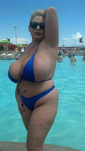 Claudia Marie Blue Bikini