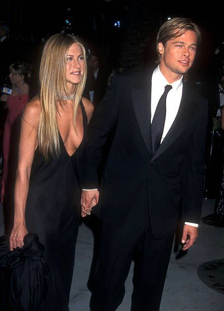 Brad Pitt And Jennifer Aniston File Photos Photos And Premium High Res Pictures Brad Pitt And Jennifer Brad Pitt Jennifer Aniston Jennifer Aniston Pictures