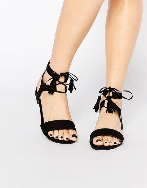New Look Wide Fit Lace Up Sandal | Shoes | Lace up sandals